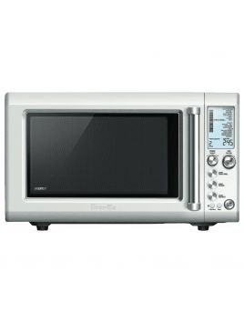 Breville BMO700BSS the Quick Touch Crisp Inverter Microwave