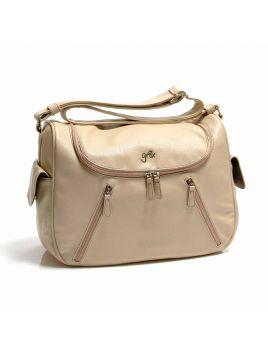 Calypso Satchel Baby Nappy Bag with BONUS wrap