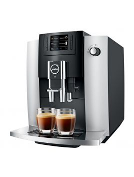 Jura E6PLATINUM E6 Automatic Coffee Machine - Platinum