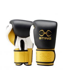 Sting SEBG-V715 Evolution Fight Boxing Glove Black / Gold