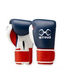 Sting SEBG-V1715 Evolution Fight Boxing Glove Navy / Red