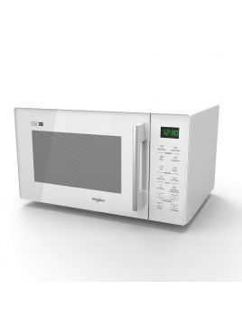 Whirlpool MWT25WH 25L Microwave with Steam Function - White