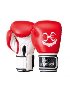 Sting STBG-0112-RED Titan Boxing Gloves Red