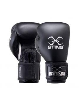 Sting SVBG-V113 Viper Pro Fight Boxing Glove (V) Black